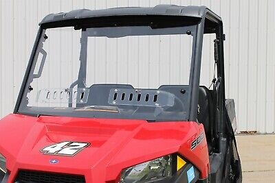 "Polaris Ranger Mid Size 570 Full UTV Windshield 3//16/"" Pro Fit Cage Model 2015"