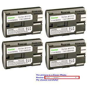 Kastar-Replacement-Battery-for-Canon-BP-511-CG-580-amp-Optura-200MC-Optura-Pi