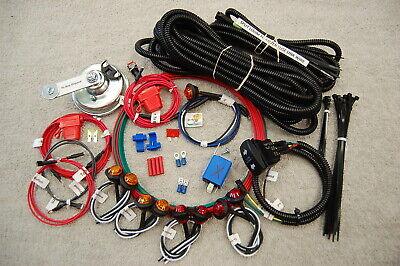 sxs//utv Kawasaki Mule Pro Teryx Teryx 4 STREET LEGAL LED Turn-Signal Kit w//HORN