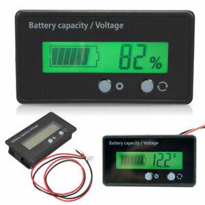 Vert-bleu-LCD-12V-24V-36V-48V-numerique-voltmetre-amperemetre-panneau