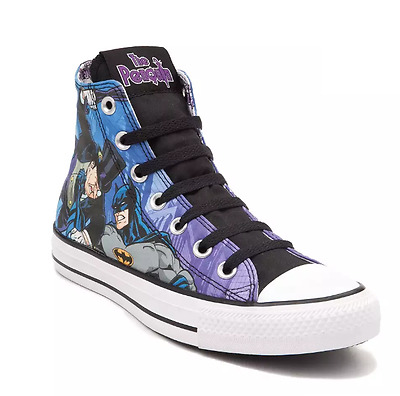 ae8d0d8a99d1 Converse Chuck Taylor ALL STAR HI Shoes Penguin DC Comics Batman US Men 7  New