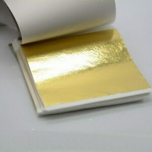 24K Edible Gold Leaf Sheets REAL PURE 100/% 24 Karat for Grilled Cheese Sandwich