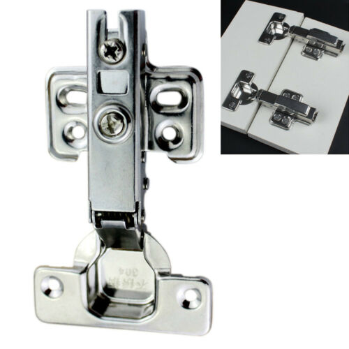 Stainless Steel Soft Close Hydraulic Full Overlay Cupboard Cabinet Door Hinge