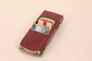 Haji-Mercedes-230-Sl-Japan-With-Friction-Tin-Toy-230-Sl-Mercedes-Car
