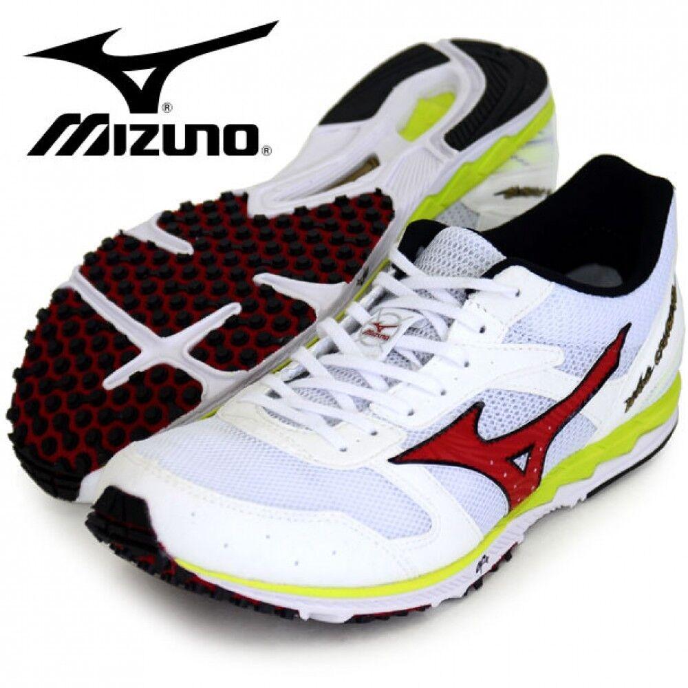 5c4259949b Mizuno Running shoes WAVE CRUISE U1GD1760 White × Red × Yellow F S ...