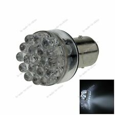 1X White 1157 BAY15D 24 In-line LED Brake Turn Signal Rear Light Bulb Lamp E028