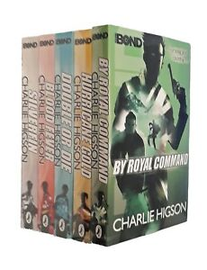 Charlie-Higson-Young-Bond-Series-5-Books-Silverfin-Adventure-Thriller-New