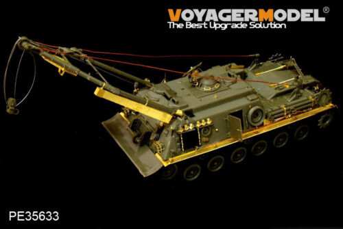 Voyager PE35633 1//35 German M88A1G Recovery Vehicle smoke discharger include
