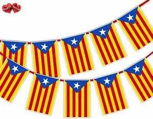 Catalan-Full-Flag-Rectangular-Bunting-Banner-12-flag-National-by-Party-Decor