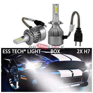Ampoule-H7-LED-phares-Voiture-6500K-7600lm-72W-ESS-TECH-feux-206-307-Golf-4-A3