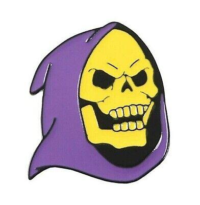 SKELETOR enamel pin badge HE MAN cartoon kids TV retro skull gift UK STOCK