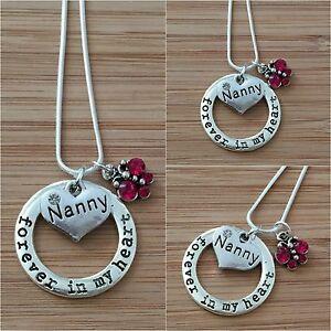 Collar De Sirena Personalizado Para Mamá Hermana Nan cumpleaños regalo de Navidad el Dia De La Madre