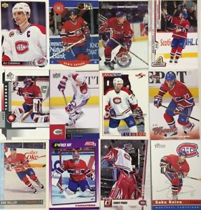 MONTREAL-CANADIENS-50-Different-Card-Team-Lot-KOIVU-ROY-PRICE-1990-2015