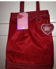 Victoria's Secret Red Large Keychain + Tote NWT