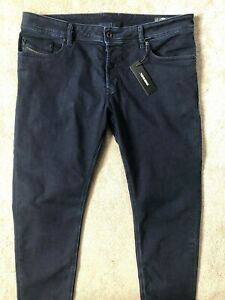 DIESEL-Uomo-Blu-034-troxer-034-Slim-Skinny-Jeans-R8KE4-W-36-034-X-L-32-034-Nuovo-Tag