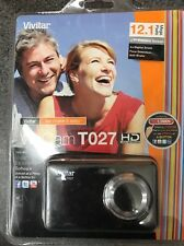 "Vivitar ViviCam T027 12.1 Megapixel Compact Camera 2.7"" LCD Black"