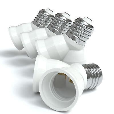 3 Stück Lampenfassung Adapter Sockeladapter Umwandler von E14 auf GU10 230V