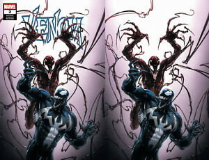 Details about Venom 2 Marvel 2018 Clayton Crain Variant Carnage Donny Cates  Set Trade Virgin
