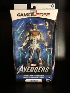 Marvel-Legends-gamerverse-Avengers-Iron-Man-Starboost-Armor-selten-Mclaren-Autogramme-NIB