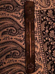 Porte-encens-en-bois-artisanat-d-039-Inde-decoration-antique