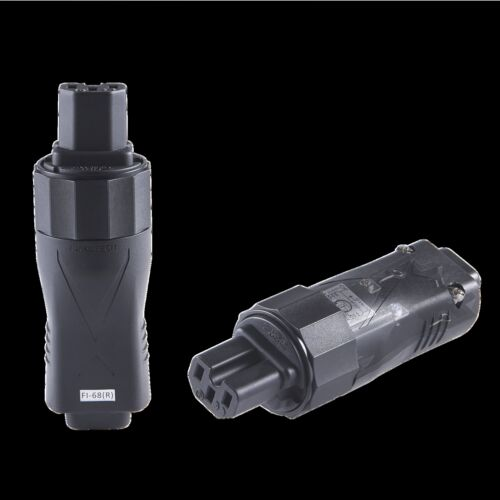Furutech FI-68 R Kaltgerätebuchse High End EMI Filter IEC Connector Rhodium
