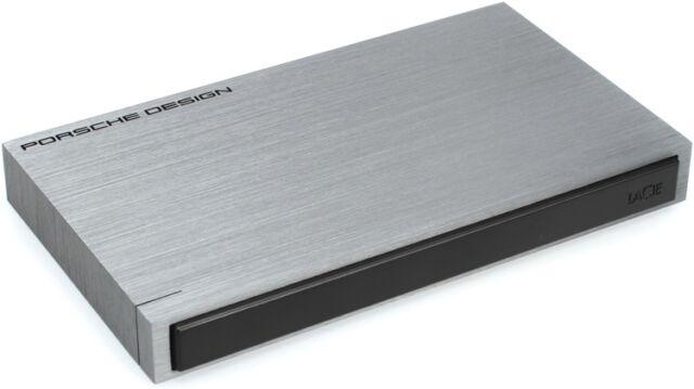 "Lacie 1TB Porsche Design P9220 2.5"" Portable drive USB 3.0 Powered 302000 PC/Mac"