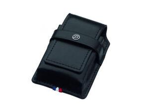 ST-Dupont-Ligne-2-Black-Leather-Single-One-Lighter-Pouch-Case-ST180024