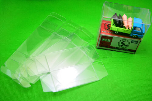 Hot Wheels Tomica Matchbox 1//64 ToysCar Container PVC Protector Clear Box 10pcs