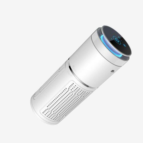 cubicle Kill germs w// portable UVC//HEPA disinfecting air purifier for car room