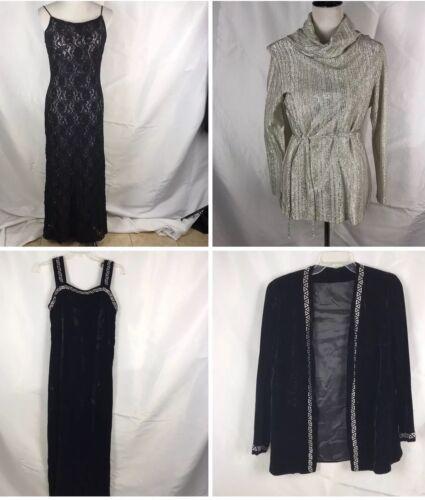Metallic Top 4 Lotto Include Womens Judy Co Eveningwear S M Morgan Bond Abito 71P1nZqwd