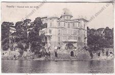 GENOVA RAPALLO 128 KURSAAL HOTEL ALBERGO Cartolina VIAGGIATA 1912