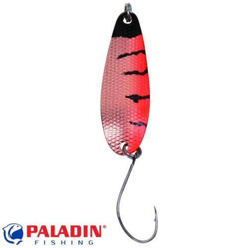 Paladin Trout Spoon III 3,6g schwarz-orange-kupfer//kupfer MARUTO® Haken Spinner