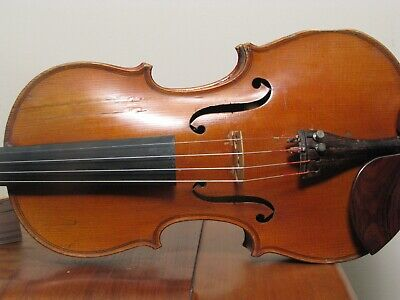 Old French Violin Incredible Sound Ready To Play Full Size Ebay