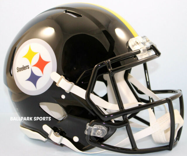 c1feb6f51 Pittsburgh Steelers Authentic Full Size Riddell Helmet for sale ...