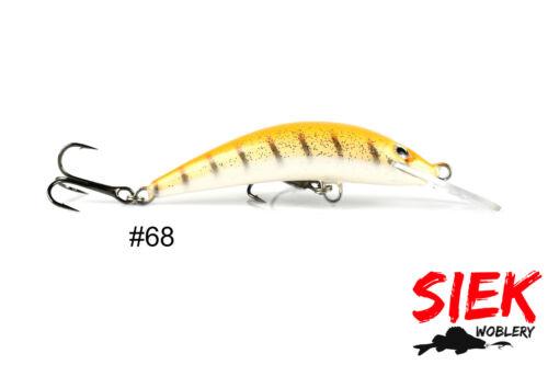 floating señuelo para lucio trucha Siek-M Scorpion 7cm 6g perca COLORES