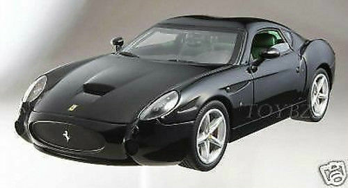 1 18 HOT WHEELS ELITE-FERRARI 575 GTZ Zagato nero