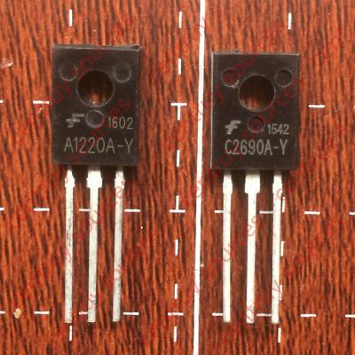 1Pairs or 2PCS 2SA1220A//2SC2690A TO-126 KSA1220A//KSC2690A A1220A//C2690A