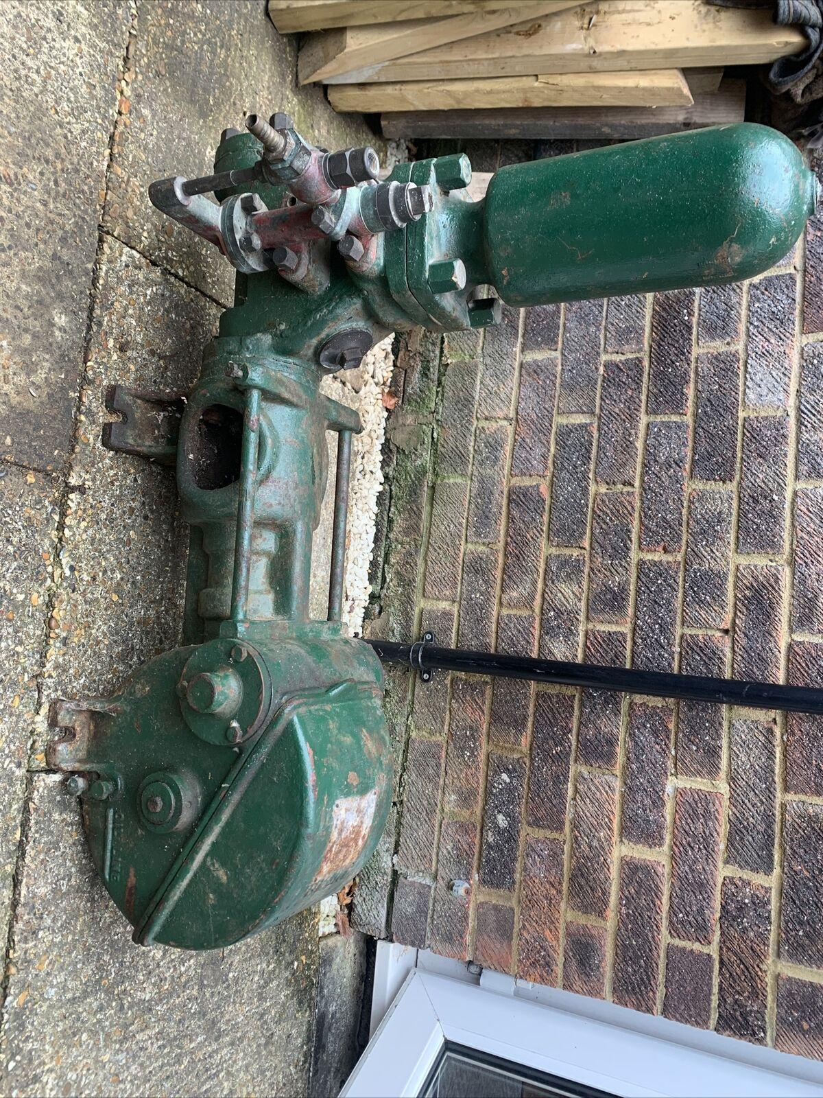 Blake Water Pump Stationary Engine