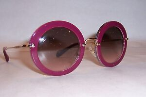 aba2cb03177 NEW MIU MIU SUNGLASSES MU 13N DHH1E2 CYCLAMEN PINK AUTHENTIC 13NS ...
