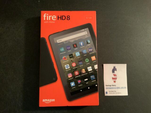 Amazon Fire HD 8 Tablet 32 GB, Black, ALL-NEW 10TH Generation (2020) Alexa