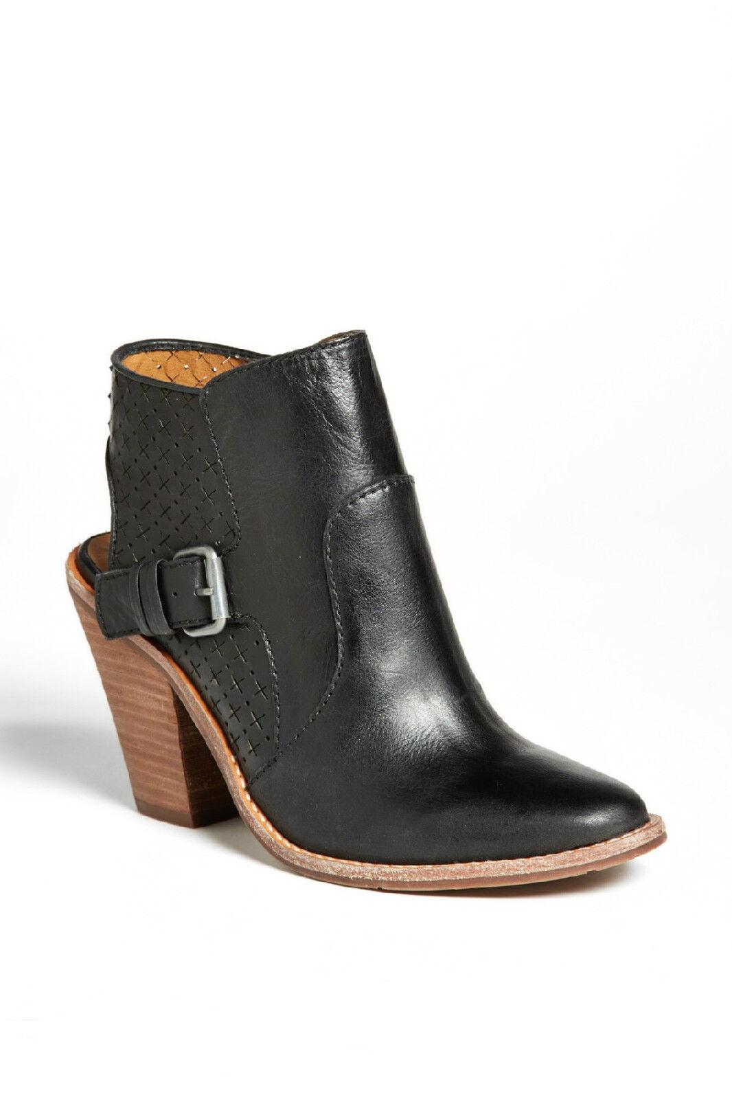 negozio di moda in vendita DV Dolce Vita Calin nero Leather Open Back Ankle stivali stivali stivali avvioies Heels Sz 10 NEW  sconto online