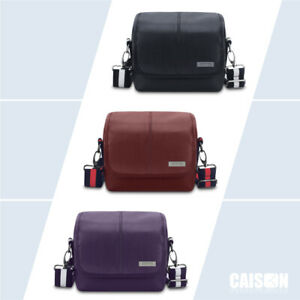 PU-Leather-DSLR-Digital-Camera-Case-Shoulder-Bag-For-Canon-NIKON-SONY-Panasonic