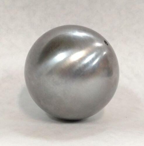 "Ornamental 3/"" Diameter Architectural Decorative Hollow Steel Canon Ball lot of 2"