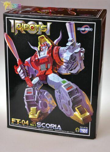 NEW Fans Toys FT04 FT-04 FT Scoria Figures Masterpiece Model