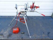 Ridgid 300 T2 Pipe Threader Threading Machine 1 2 Die 2 Great Shape