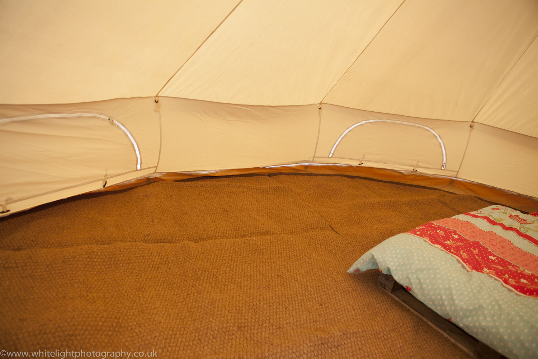 Bell Tent Mat - Coir Half Moon 3m, 3m, Moon 4m, 5m, 6m By Bell Tent Boutique 557c27