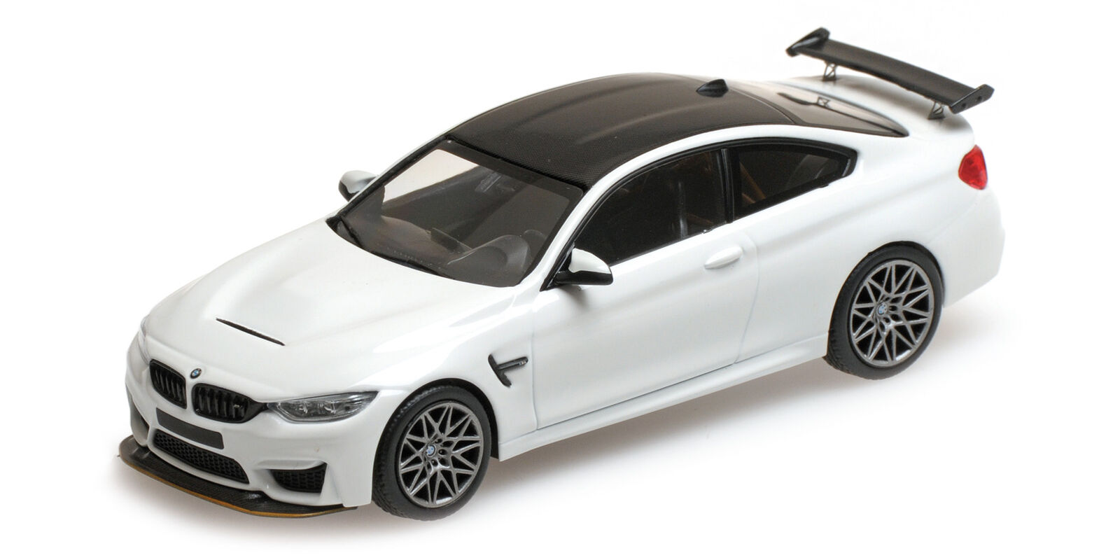 Bmw M4 Gts 2016  White W  Grey Grey Grey Wheels L.E. 336 Pcs. MINICHAMPS 1 43 410025221 Mo b24352