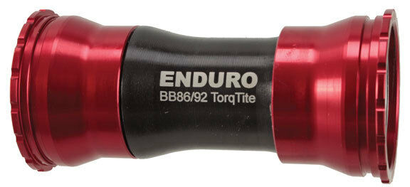 Enduro TorqTite mit Gewinde BB86 92, 24mm GXP - rot