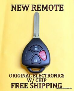 new uncut toyota rav4 4runner keyless remote fob transmitter