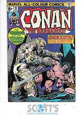 Conan the Barbarian  #46  VG
